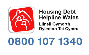 Housing Debt Helpline Wales logo